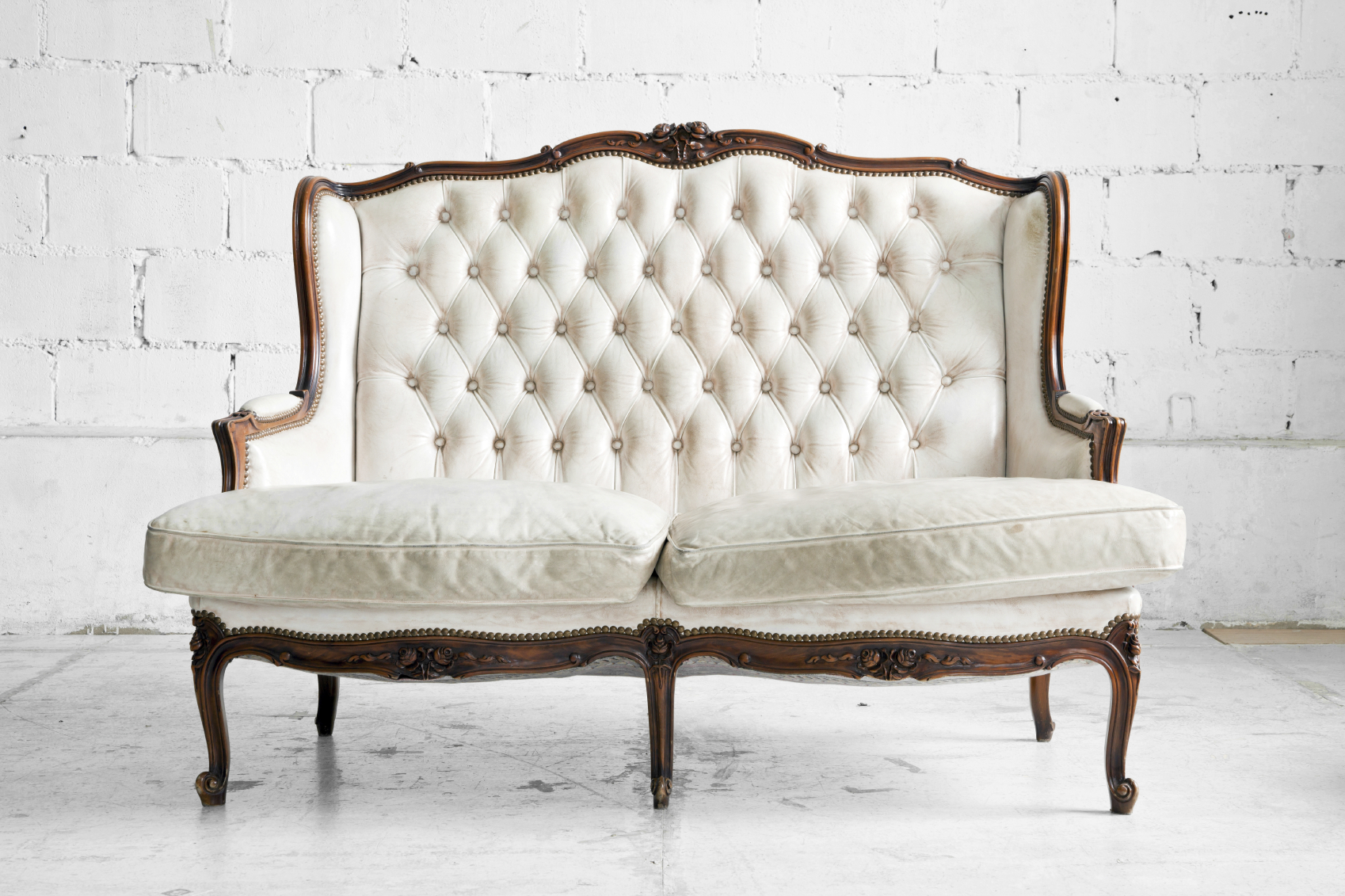 sofa in vintage room
